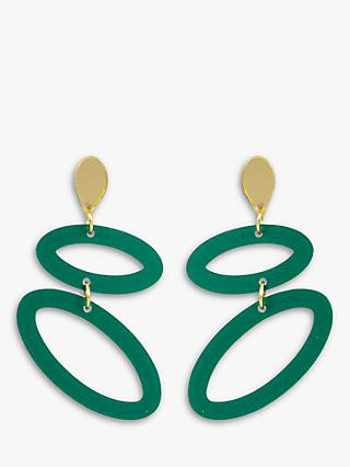 Toolally Ellipses Drop Earrings