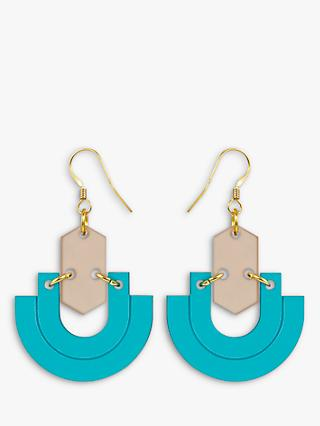 Toolally Half Hoop Drop Earrings