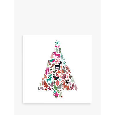 Image of Museums & Galleries Christmas Tree Charity Christmas Cards, Pack of 8