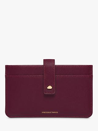Estella Bartlett Card Holder Purse, Burgundy