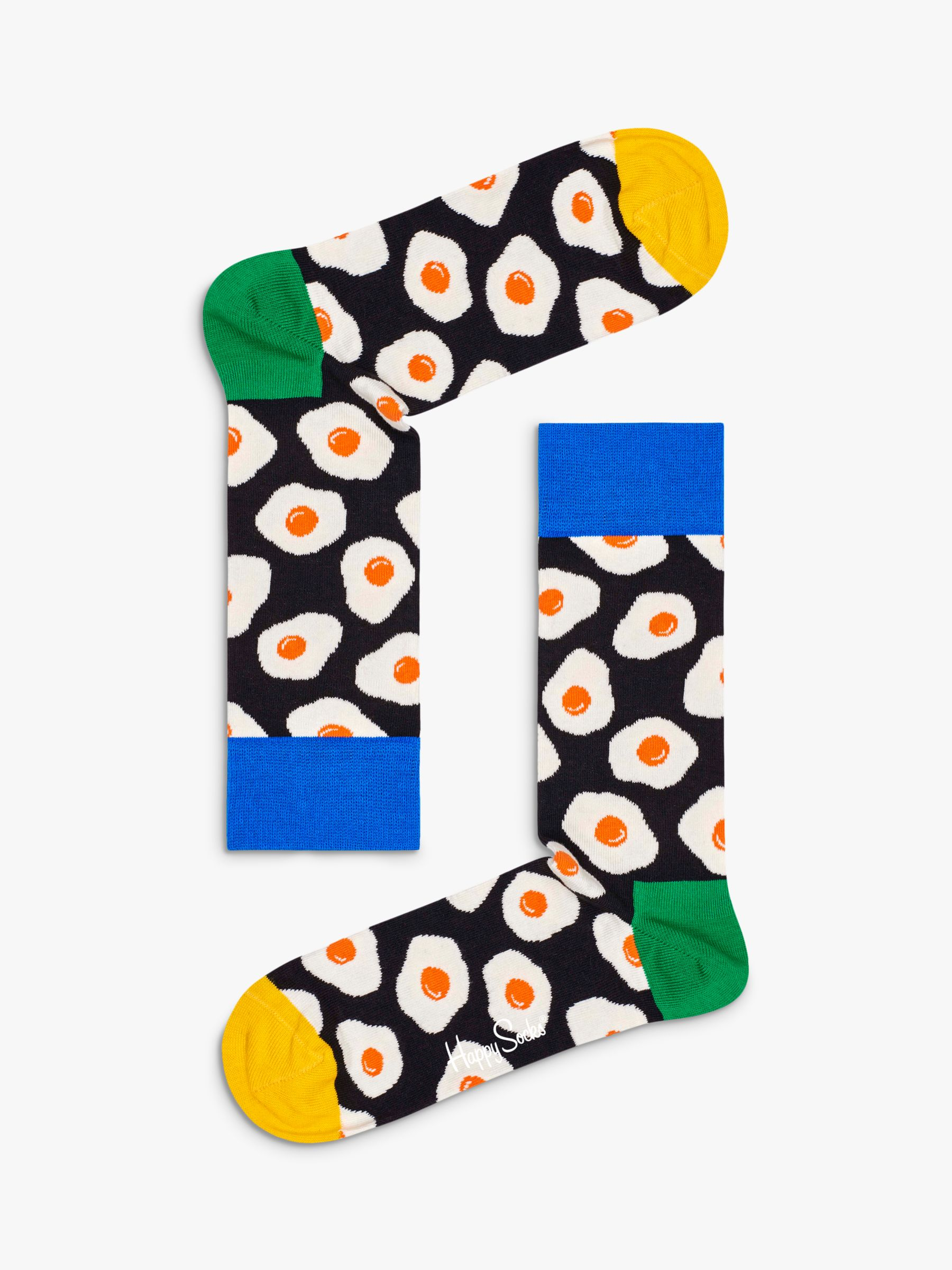 Happy Socks Happy Socks Sunny Side Up Socks, One Size, Black/Multi