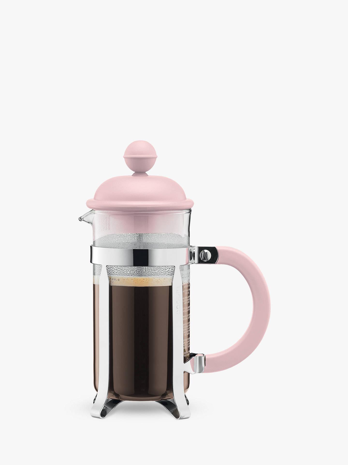 Bodum 3 Cup Caffetteria Coffee Maker 350ml Pink