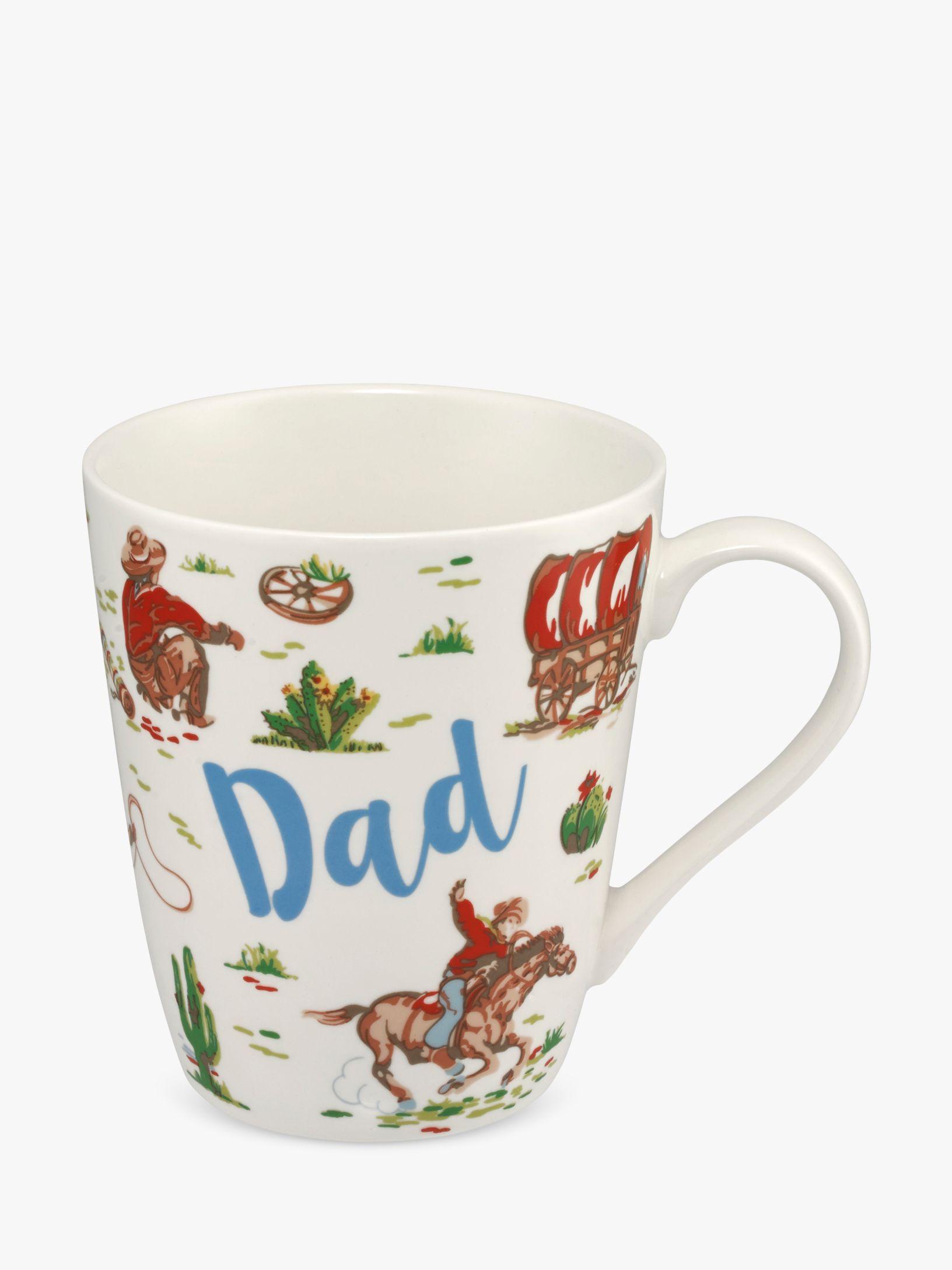 Cath Kidston Cath Kidston Dad Cowboy Mug, 400ml, Multi