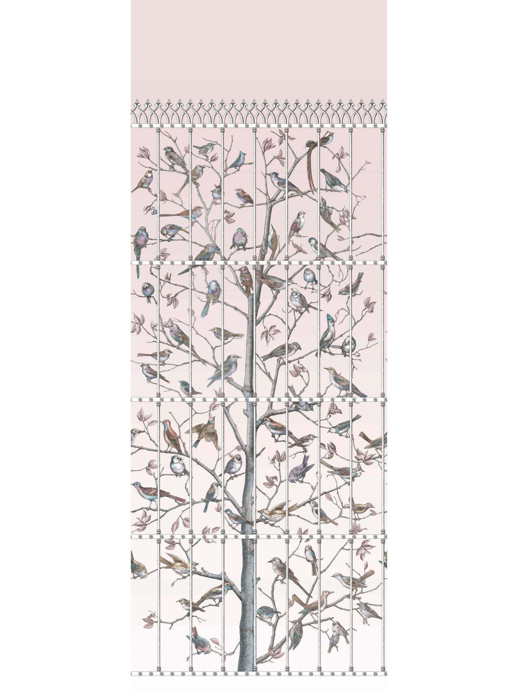 Cole & Son Cole & Son Uccelli Wallpaper, 114/11022