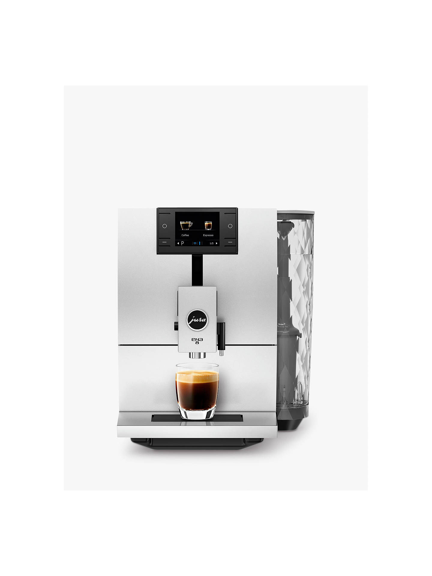 Jura ENA 8 Bean-to-Cup Coffee Machine at John Lewis & Partners