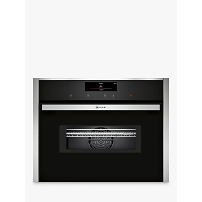 Image of Neff C28MT27H0B Built-In Combination Microwave, Stainless Steel