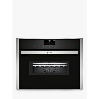 Image of Neff C17MS32H0B Built-in Combination Microwave Oven, Stainless Steel