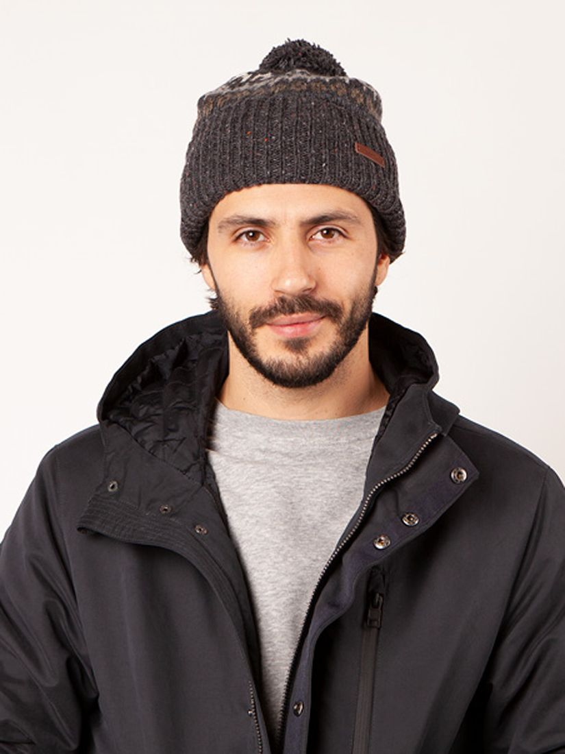 Barts Barts Eljar Beanie, One Size, Dark Heather