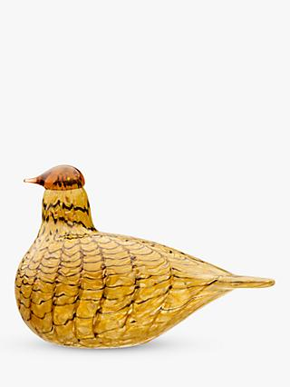 Iittala Toikka Summer Grouse Bird Ornament