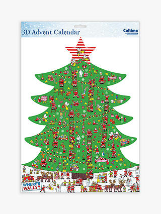Buy Woodmansterne Where's Wally 3D Advent Calendar Online at johnlewis.com