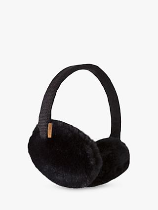 Barts Plush Ear Muffs, Black