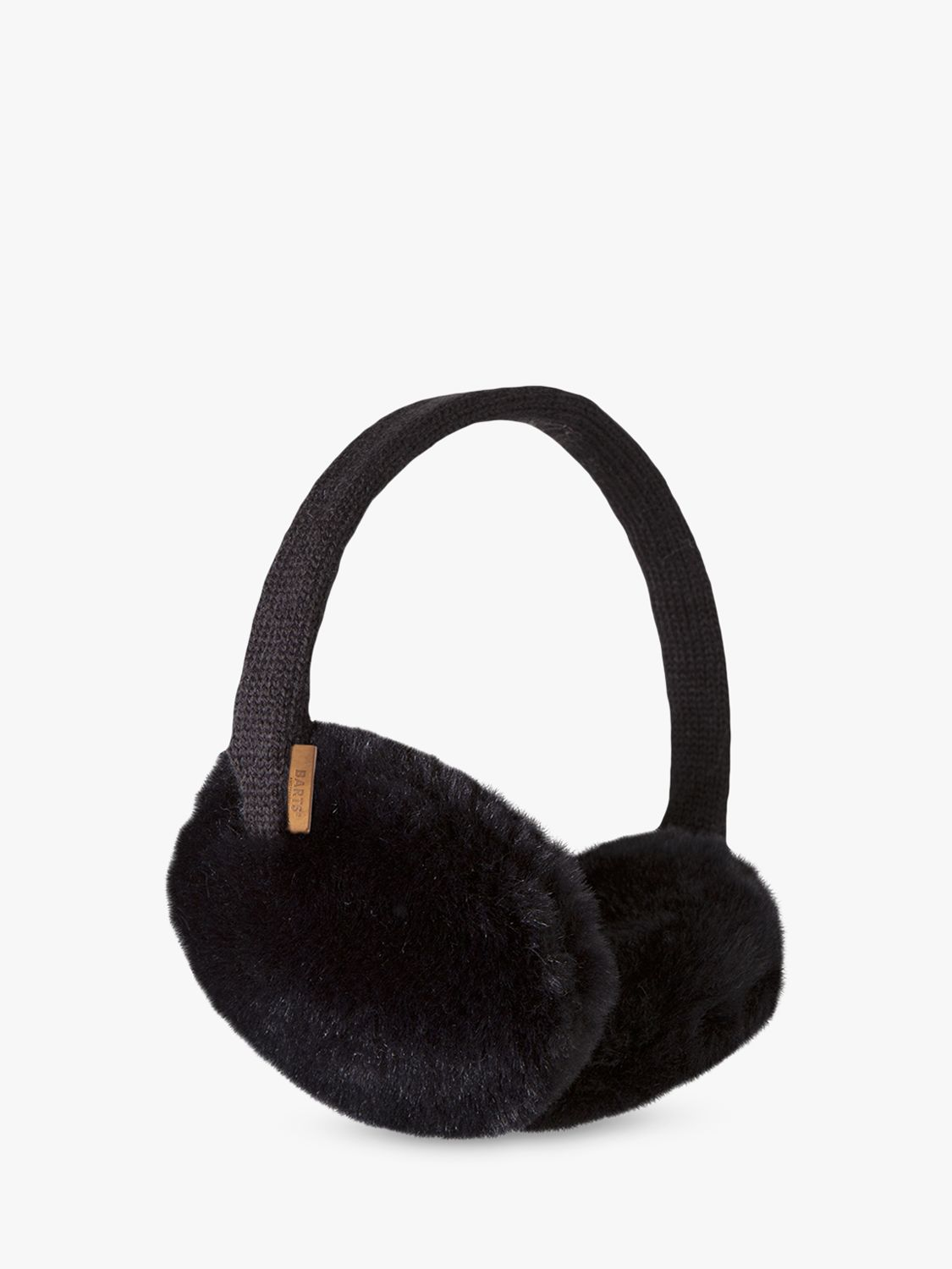 Barts Barts Plush Ear Muffs, Black