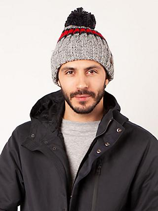 Barts Darrin Beanie, One Size, Heather Grey
