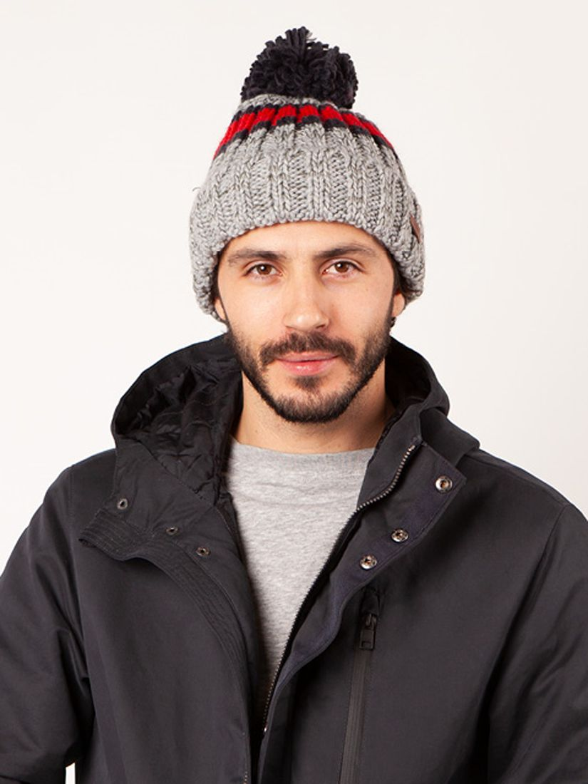 Barts Barts Darrin Beanie, One Size, Heather Grey