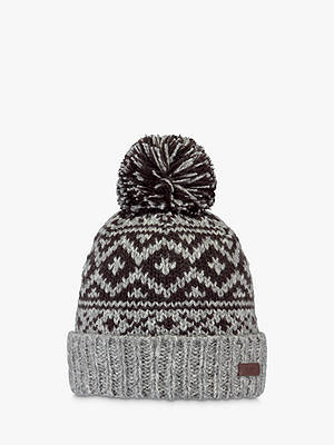 Buy Barts Cartonn Beanie, One Size, Heather Grey Online at johnlewis.com