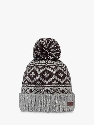 Barts Cartonn Beanie, One Size, Heather Grey