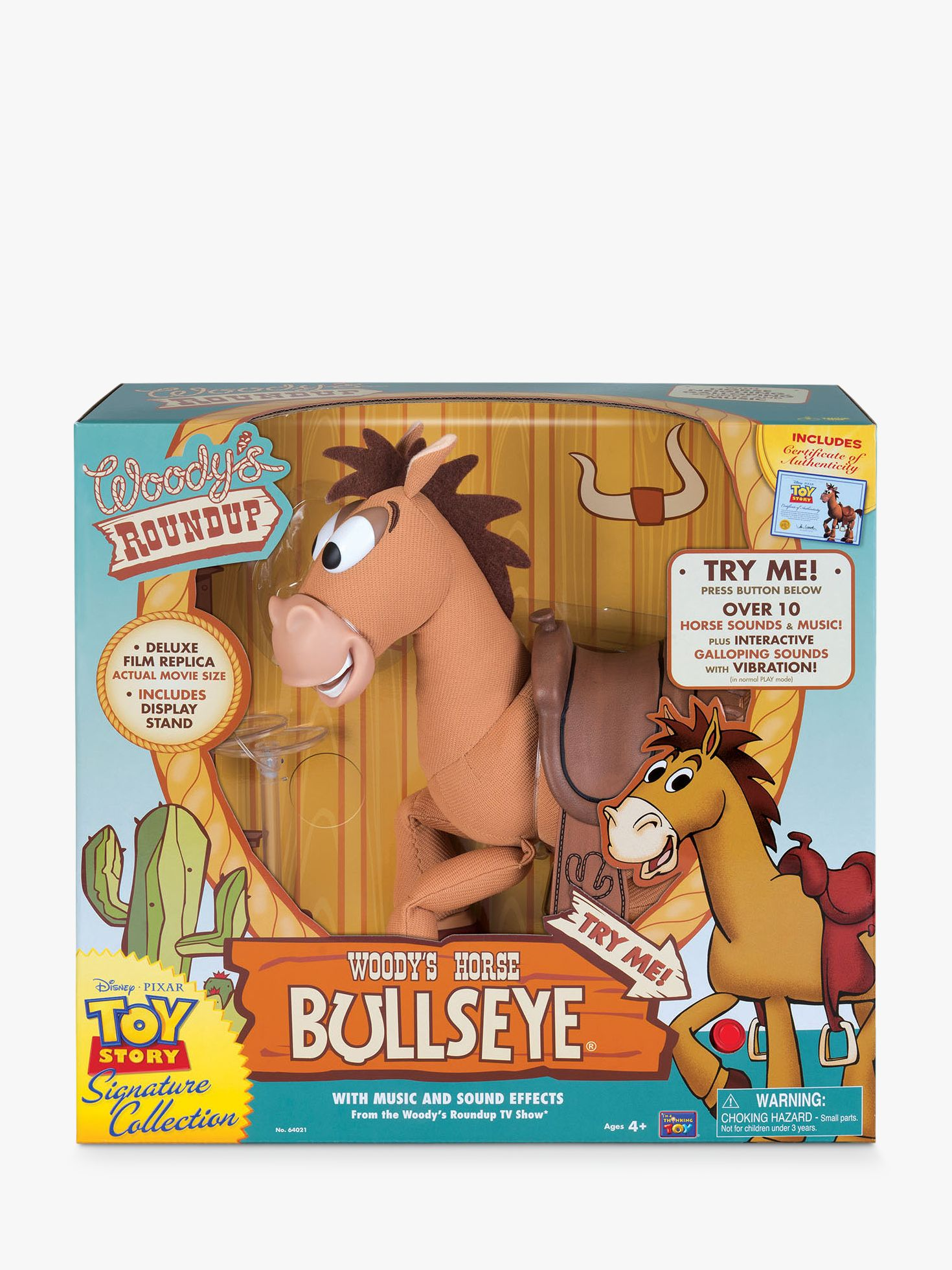 Disney Disney Toy Story Signature Collection Woody's Horse Bullseye Action Figure