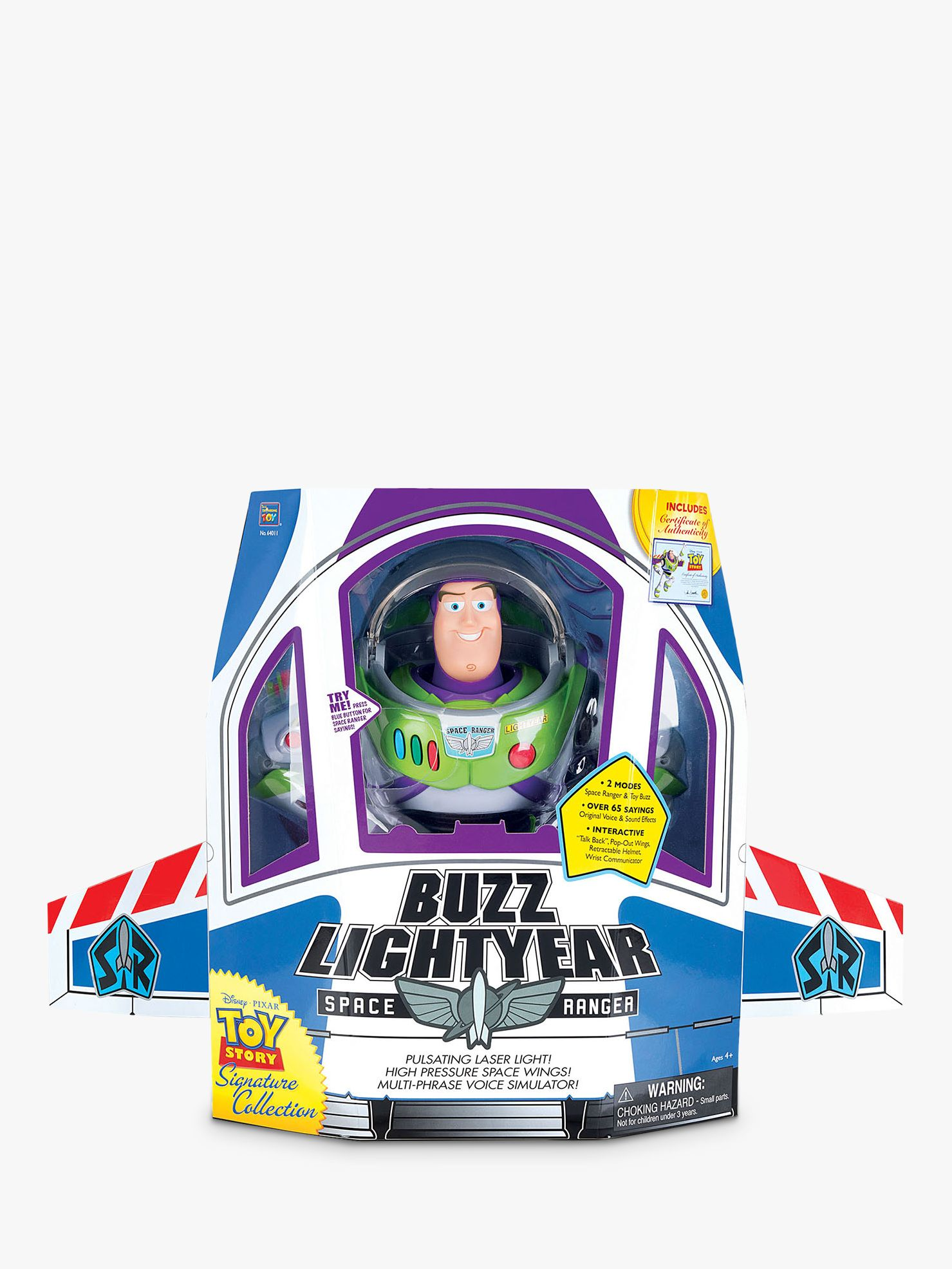 Disney Disney Toy Story Signature Collection Buzz Lightyear Space Ranger Action Figure