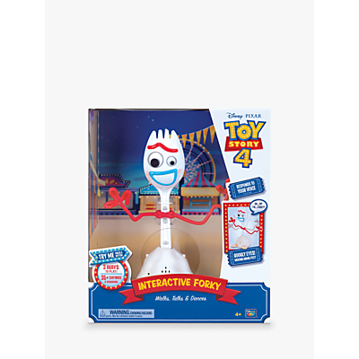 Image of Disney Pixar Toy Story 4 Forky Interactive Toy