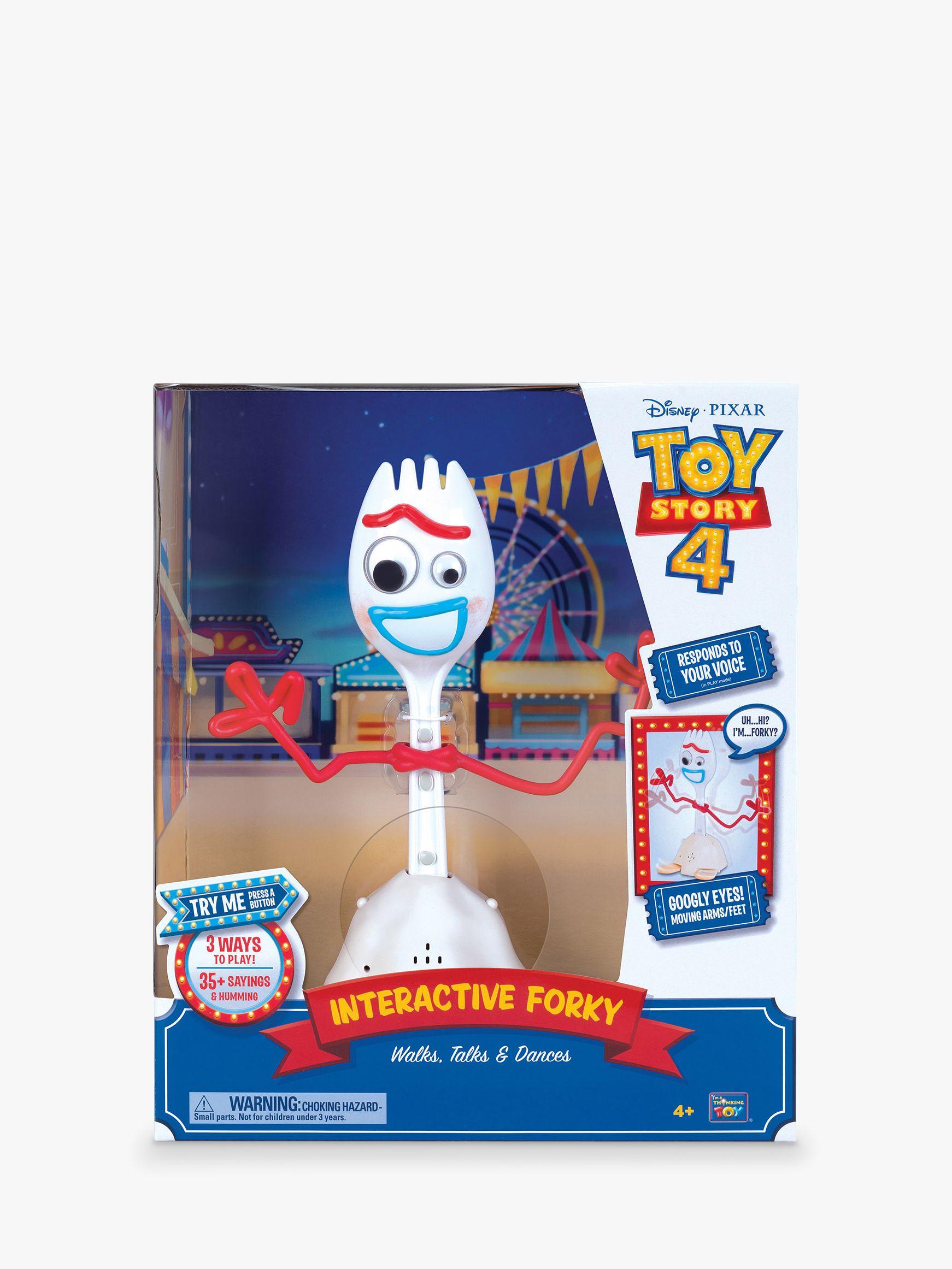Disney Disney Pixar Toy Story 4 Forky Interactive Toy