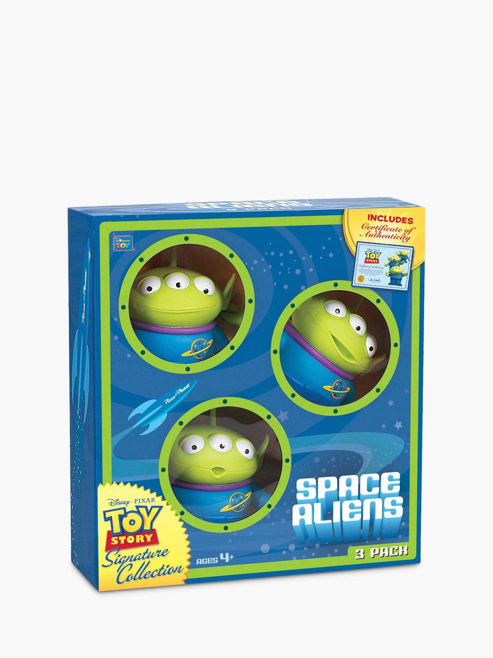 Disney Disney Toy Story 4 Space Aliens, Pack Of Three