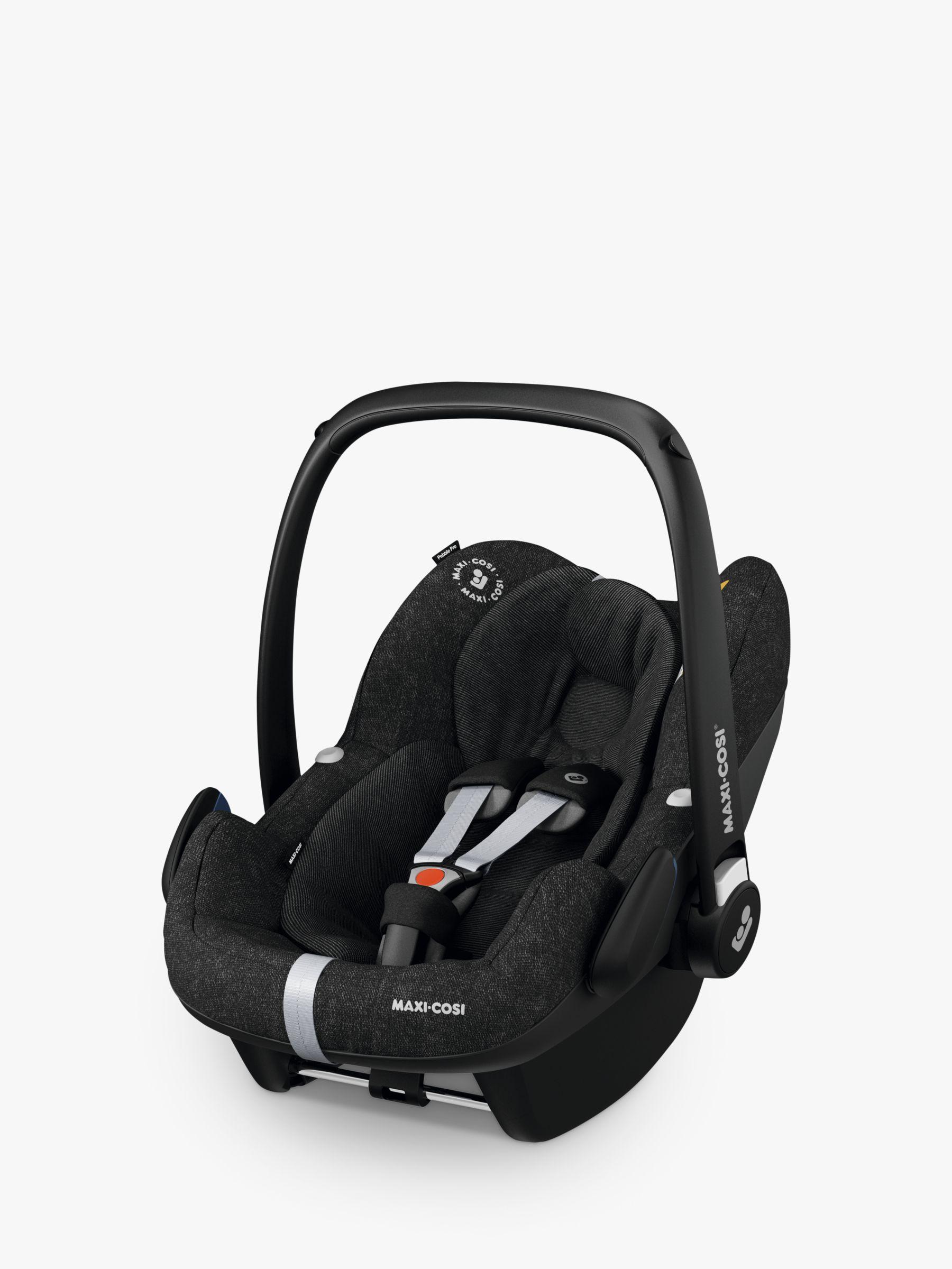 Maxi-Cosi Maxi-Cosi Pebble Pro i-Size Group 0+ Baby Car Seat, Nomad Black