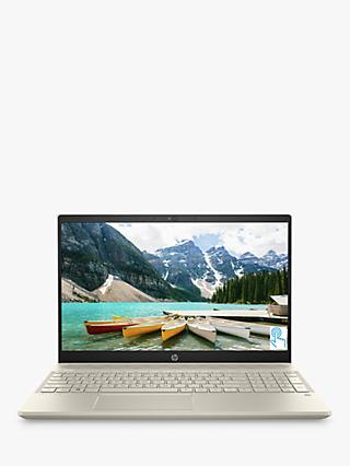 "HP Pavilion 15-cw0013na Laptop, AMD A9 Processor, 4GB RAM, 128GB SSD, 15.6"" Full HD, Silver White"