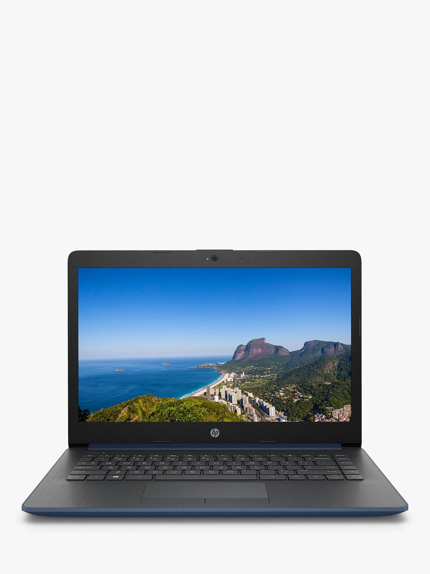 Hp Stream 14 Cm0038na Laptop Amd A4 Processor 4gb Ram 64gb Emmc 14 Twilight Blue At John Lewis Partners
