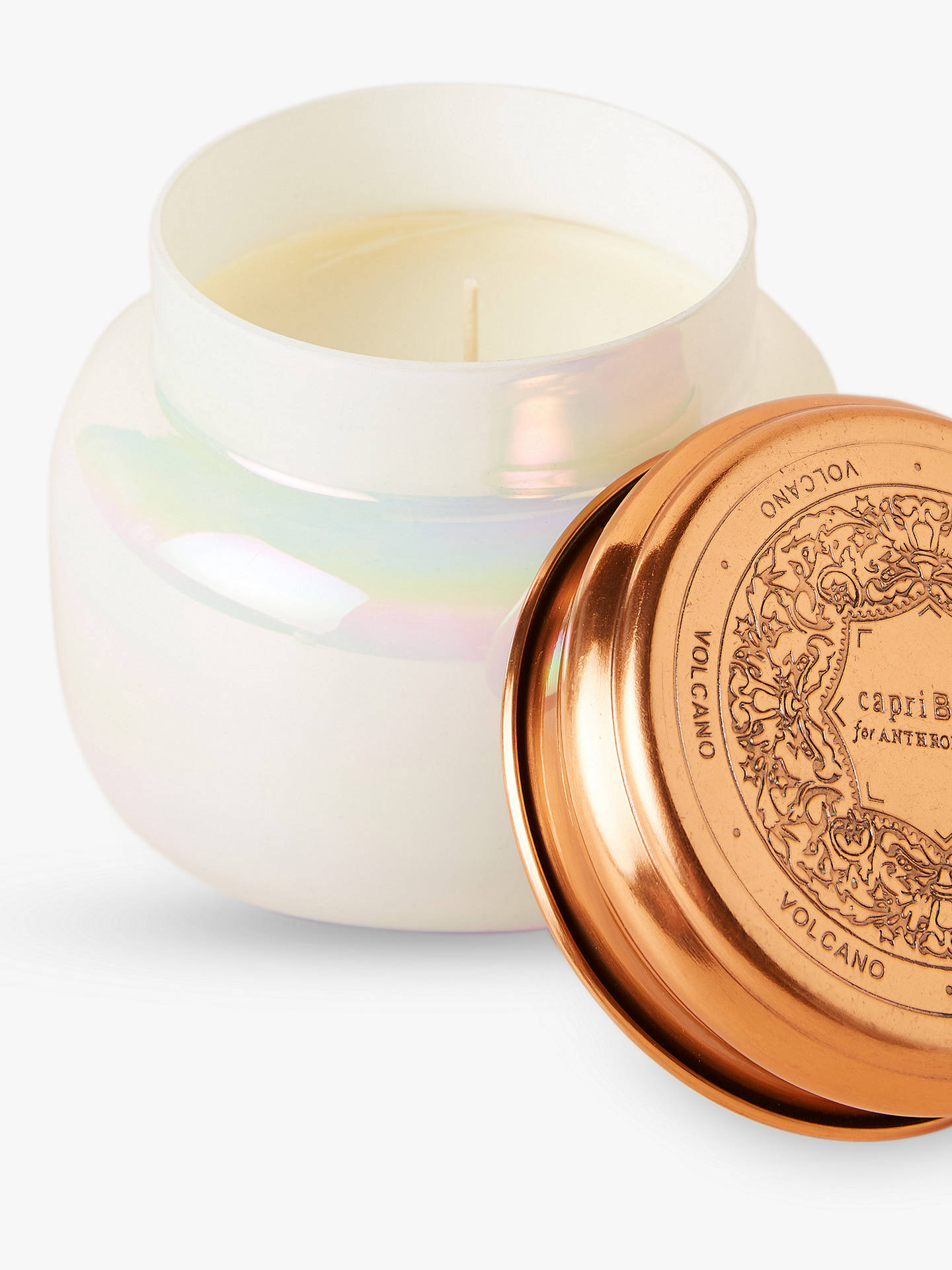 Anthropologie Volcano Scented Candle, Large at John Lewis ...