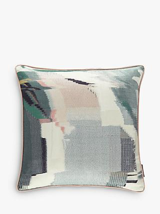 Harlequin Perspective Cushion, Peony