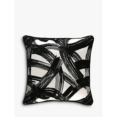 Harlequin Typhonic Cushion, Onyx