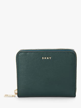 DKNY Bryant Leather Zip Around Purse, Twilight