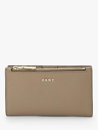 DKNY Bryant Leather Bi-fold Card Holder Purse