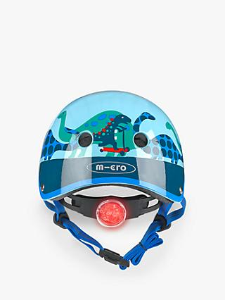 Micro Scootersaurus Scooter Safety Helmet, Small