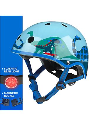 Micro Scootersaurus Scooter Safety Helmet, Medium
