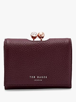 Ted Baker Suri Leather Mini Crystal Bobble Purse