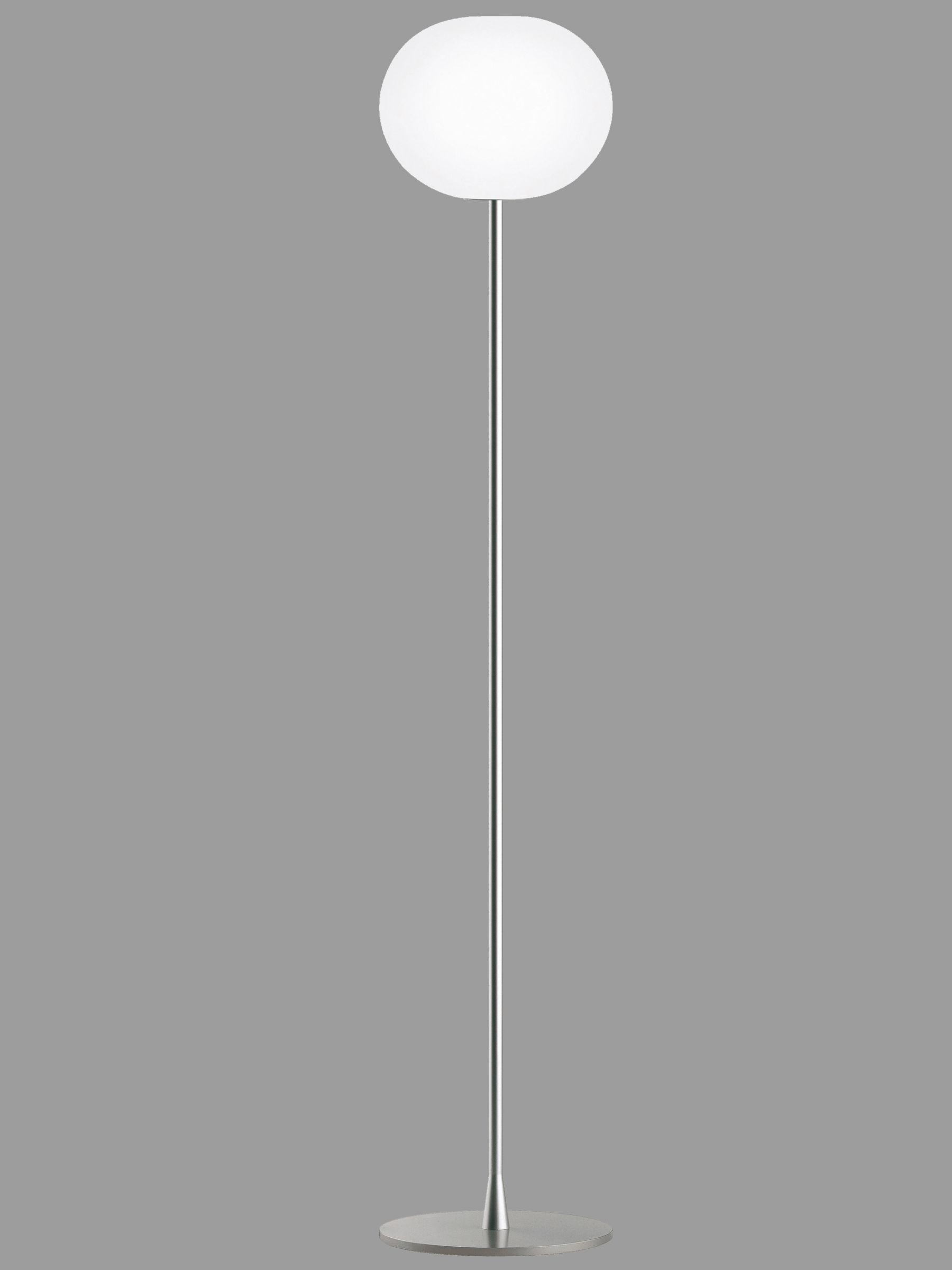 Flos Flos Glo-Ball F2 Floor Lamp, Silver