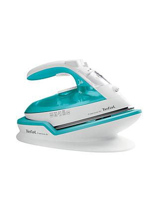 Tefal Freemove Air Cordless FV6520 Steam Iron, Green/White