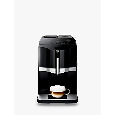Siemens EQ3 Bean-to-Cup Automatic Coffee Machine, Black