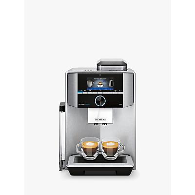 Siemens EQ.9 Plus Bean-to-Cup Automatic Coffee Machine, Silver