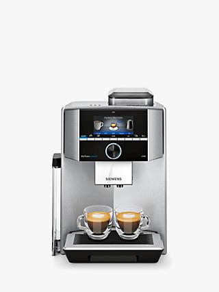 Siemens EQ.9 Plus Bean-to-Cup Automatic Coffee Machine, Silver