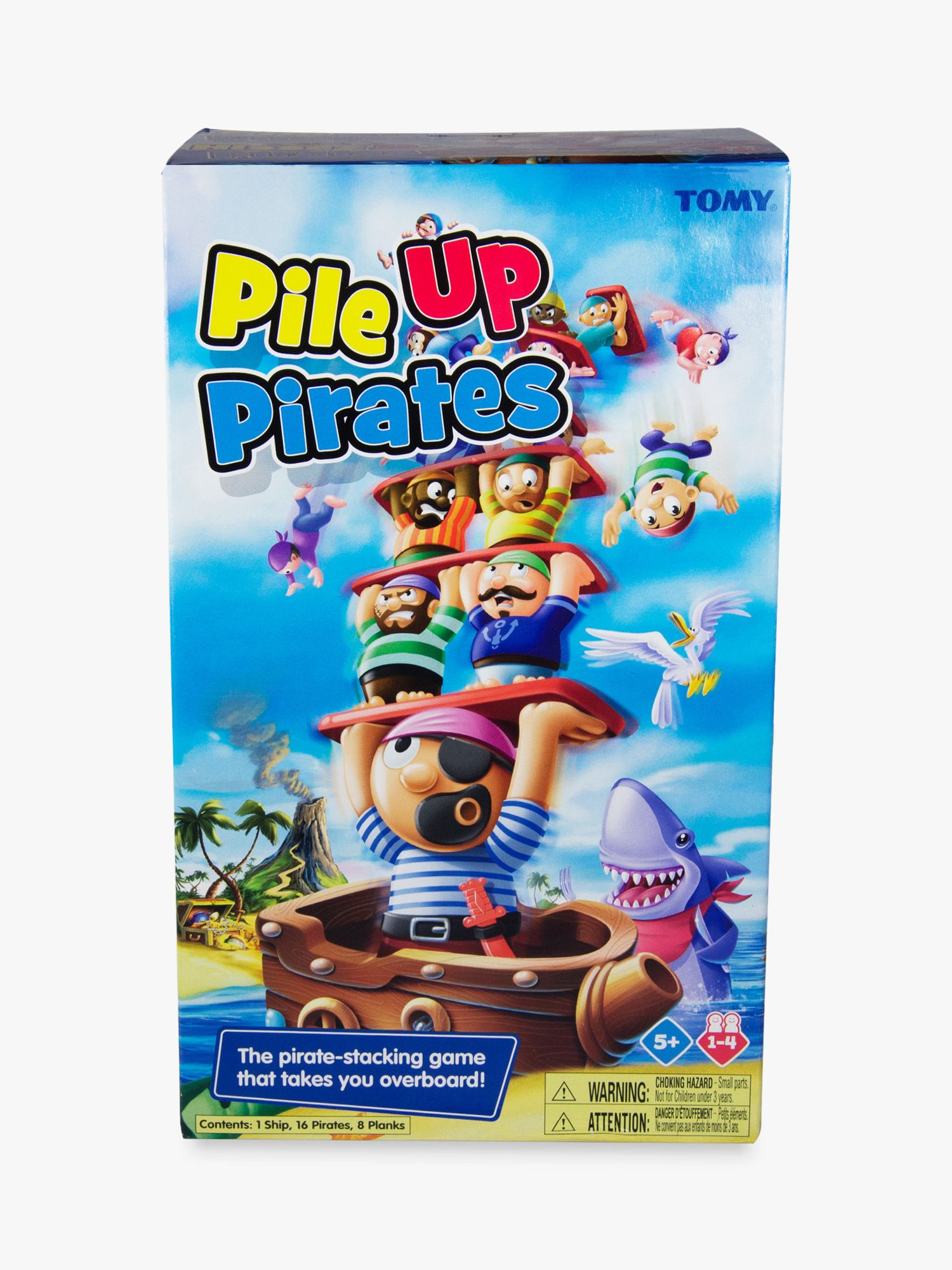 Tomy TOMY Pile Up Pirate Game