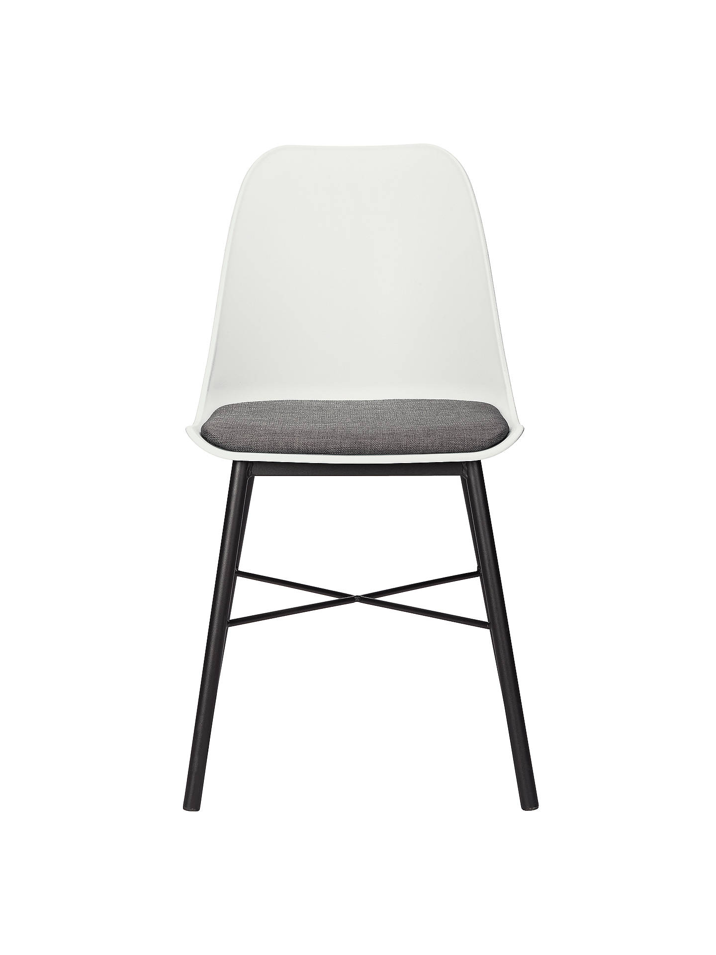 Wondrous House By John Lewis Whistler Dining Chairs Set Of 2 White Caraccident5 Cool Chair Designs And Ideas Caraccident5Info