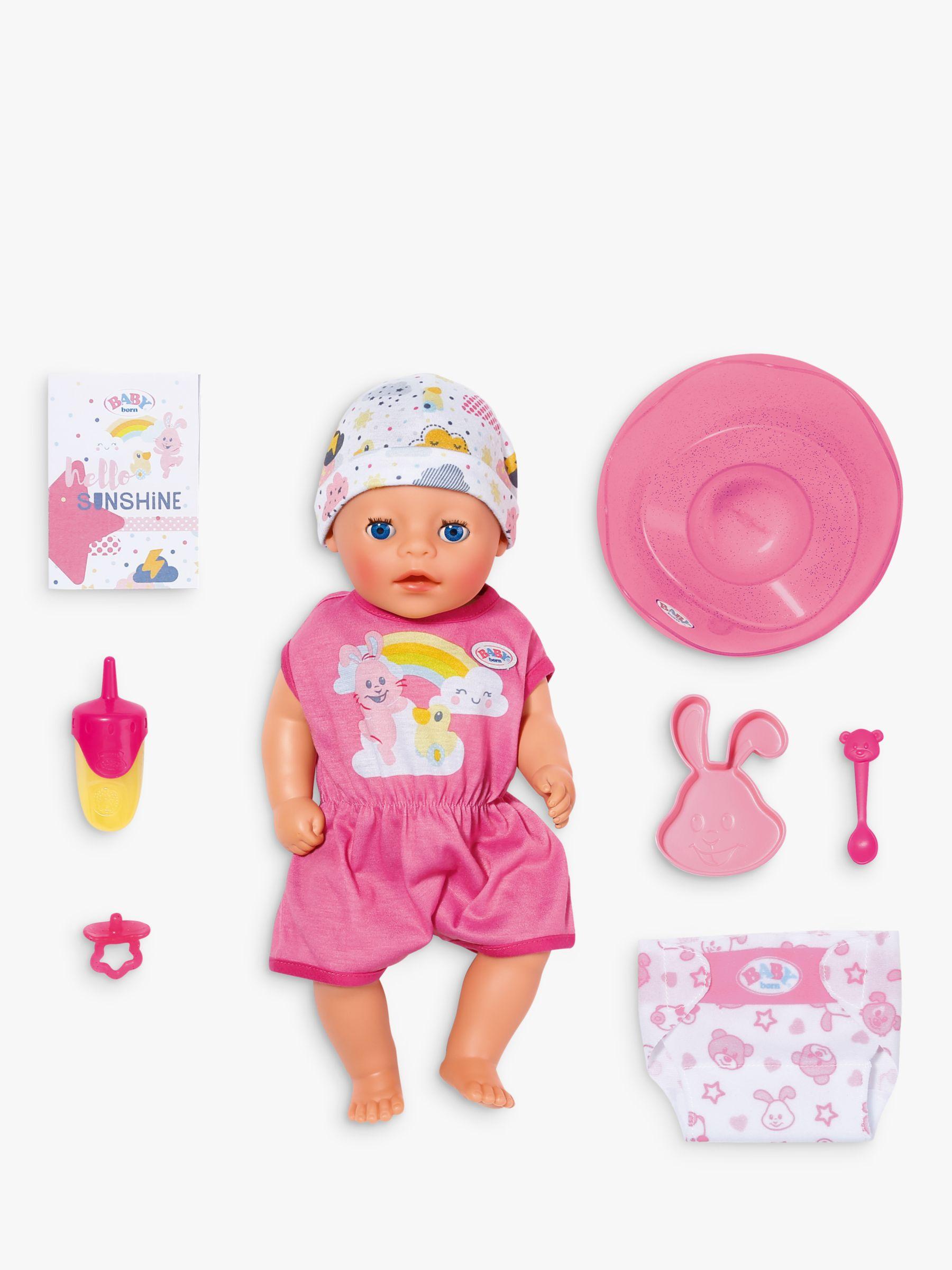 Zapf Zapf Baby Little Girl Doll