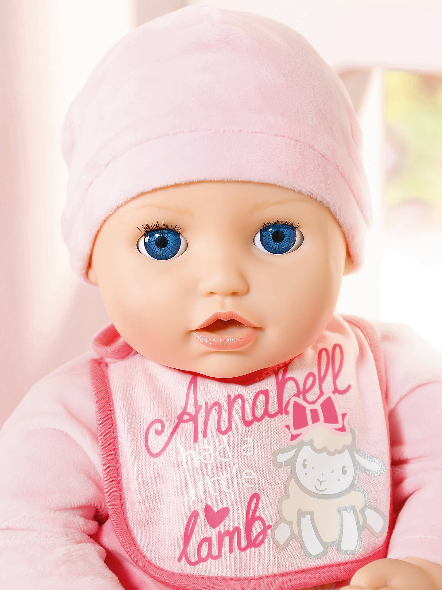 Zapf Baby Annabell Doll at John Lewis & Partners