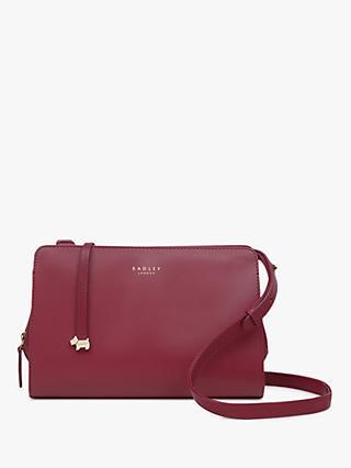 baf818ae83068 Radley Liverpool Street Leather Medium Cross Body Bag
