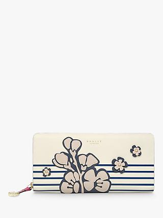 Radley Willow Leather Matinee Purse, Chalk