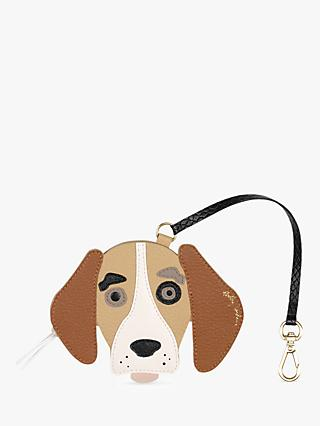 833363f56d8a Radley Radley & Friends Leather Beagle Bag Charm, ...