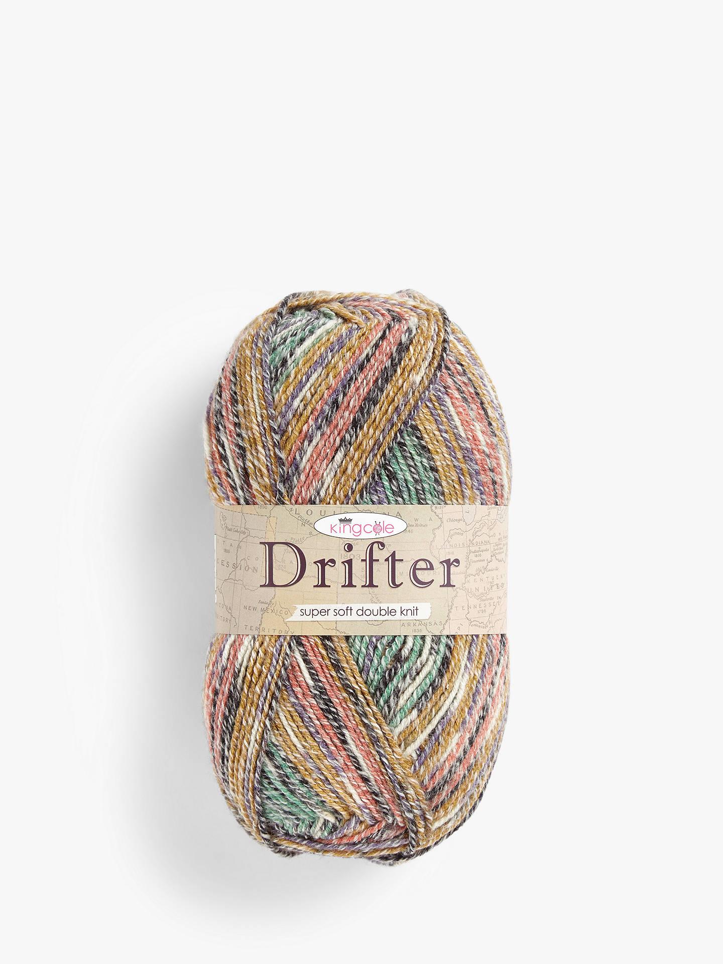 Many Colours Self Striping Yarn 100g Drifter DK Knitting Yarn by King Cole