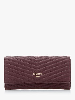 Dune Karo Quilted Foldover Purse